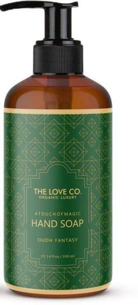 The Love Co. Fantasy Oudh Shower gel For Women Body Wash & Oudh Fantasy Hand Wash 300ml Hand Wash Bottle