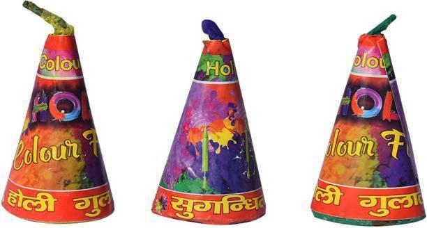 LexTure Holi Color Powder Pack of 3