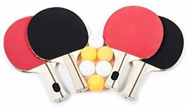 KOTHICHAR Table Tennis Combo (2 TT Rackets & 3 TT Balls) Table Tennis Kit