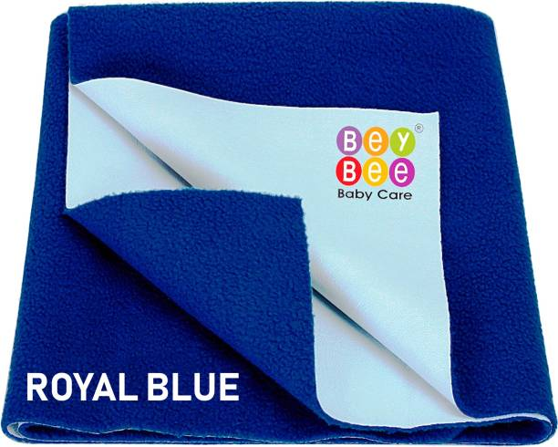 BeyBee Water Resistant Bed Protector Baby Dry Sheet with Ultra absorbance -Large (140 cm X 100 cm)