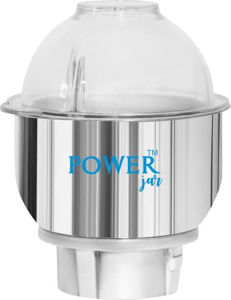 PowerJar 0.5 L Stainless Steel Mixer Jar without Handle Mixer Juicer Jar
