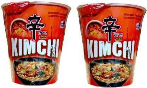 Nongshim Kimchi Instant Cup Noodle 75gm Cup Noodles Vegetarian