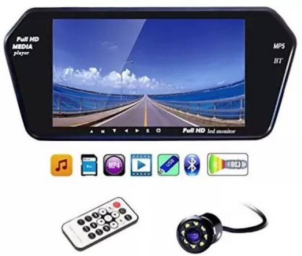 Grizzly High Quality Full HD Touch Screen Bluetooth LED Screen & LED Reverse Camera Parking Sensor