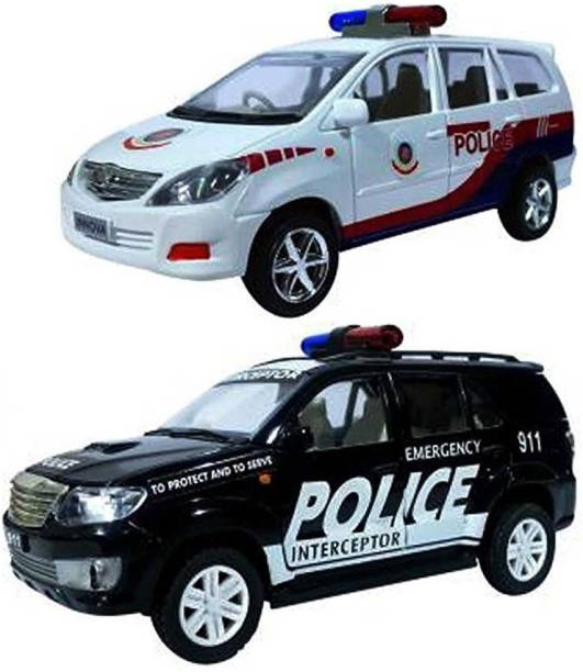 centy Police Interceptor Pack of 2 cars