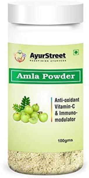 Ayurstreet Herbal Amla Powder Natural And Fresh For Immunity And Healthy Hair.