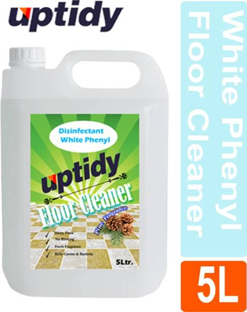 Up tidy White Phenyl Disinfectant, Bathroom Cleaner Pine Fragrance Pine