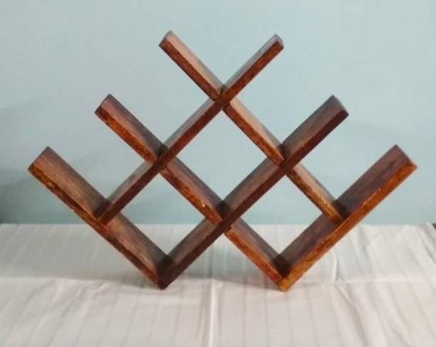 Vanvia Wooden Bottle Rack