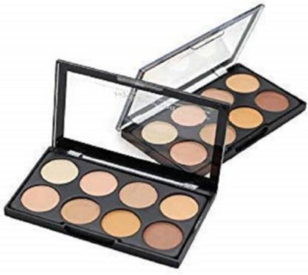 Lenon Beauty Contour 8 Shades Concealer Palette Highlighter Concealer