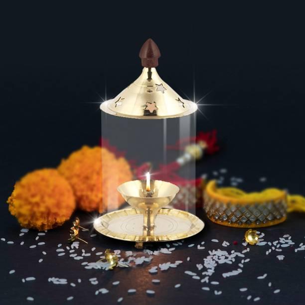 Shubhkart Udipi Brass Table Diya