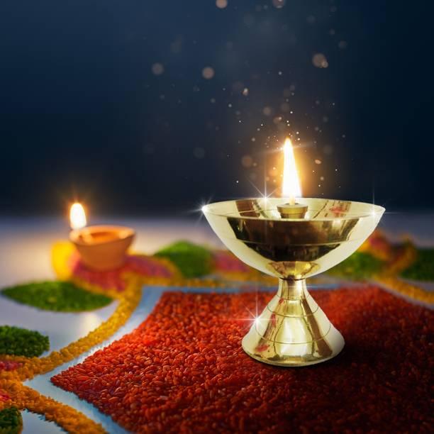 Shubhkart Pyali Deep Brass Table Diya
