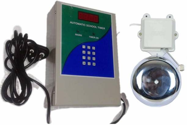 SECURITY STORE Automatic School Timer Bell System For Schools, Colleges, Factories, Industries Programmable Electronic Timer Switch