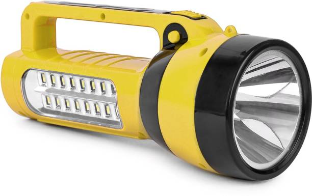 24 ENERGY 16 Hi-Bright LED Light Cum 25 Watt Torch with Solar Rechargeable Torch Emergency Light