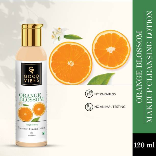 GOOD VIBES Orange Blossom Makeup Cleansing Lotion Makeup Remover