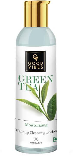 GOOD VIBES Green Tea Makeup Cleansing Lotion Makeup Remover