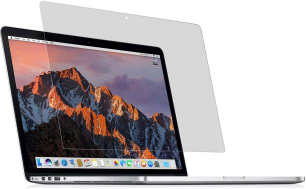 SHREEM TEMPERED Edge To Edge Tempered Glass for Apple Macbook Air Pro (15.4-inch)