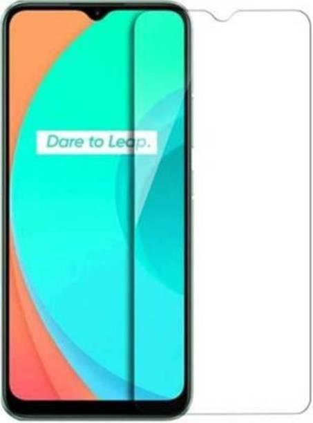 EASYKARTZ Tempered Glass Guard for Realme C15