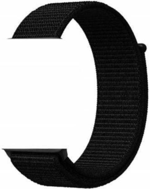 RJR Soft & Comfortable Nylon Replacement Strap Band For iWatch 42mm/44mm, Compatible with Watch Series 1/2/3/4/5 Smart Watch Strap