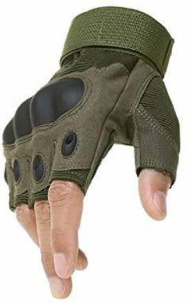 Aepigo Nylon Tactical Half Finger Gloves Cycling Gloves