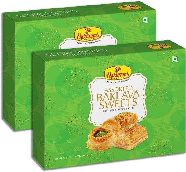 Haldiram's Baklava (600 g) Pack of 2 x 300 g Box