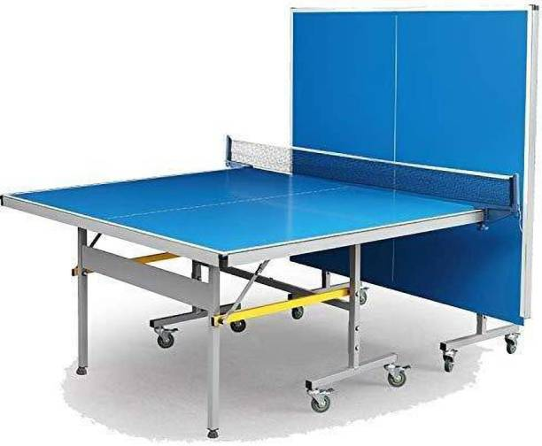 DEUCE 701 full size with 18mm Laminated Top, 25*25 mm Legs and 50 mm Wheels Rollaway Indoor Table Tennis Table