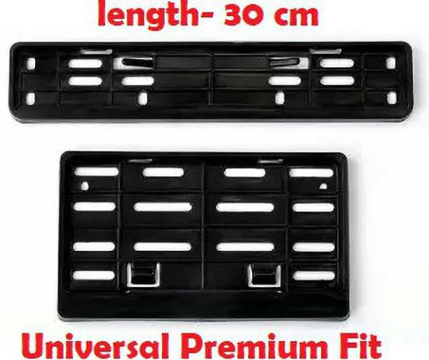 KIIRUS Premium Quality Two Wheeler Number Plate Protection Frame/Cover Bike Number Plate
