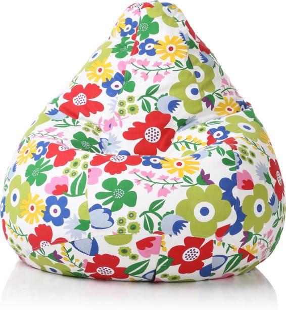 STYLE HOMEZ XXXL Tear Drop Bean Bag Cover  (Without Beans)