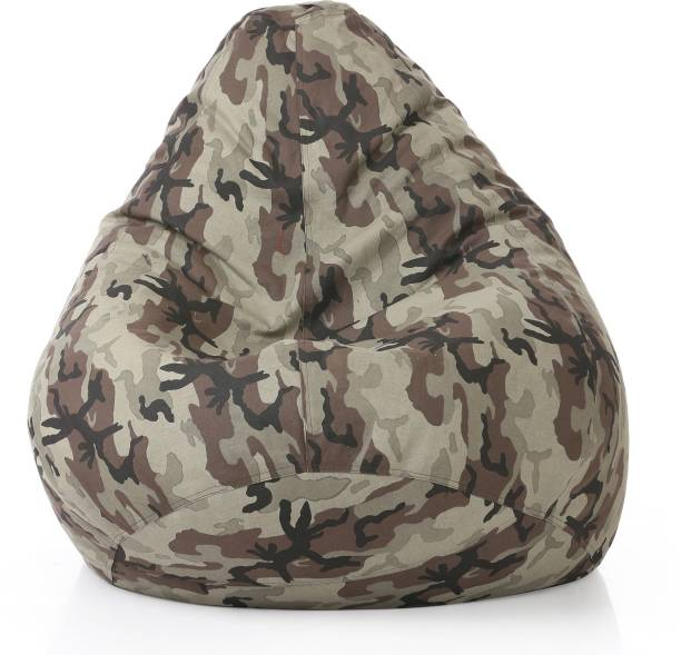 STYLE HOMEZ XXXL Teardrop Bean Bag  With Bean Filling