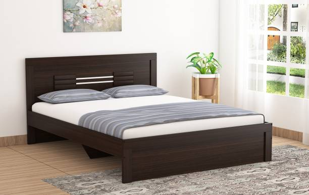 Okra Ruby Engineered Wood Queen Bed