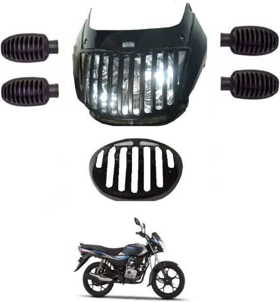 AUTOFIT Platina PVC Bike Headlight Grill