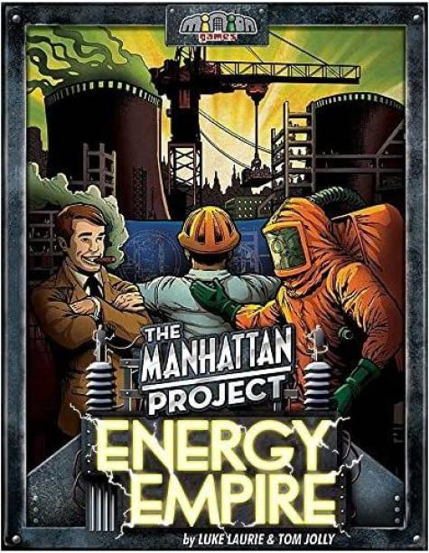 Minion The Manhattan Project Energy Empire Game Party & Fun Games Board Game