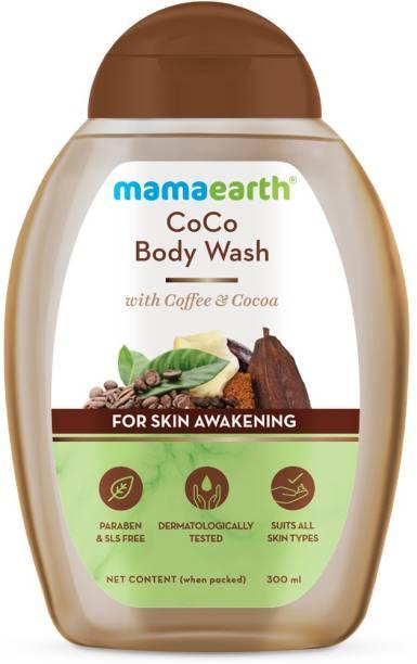 MamaEarth CoCo Body Wash With Coffee & Cocoa For Skin Awakening – 300 ml