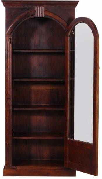 Balaji Wooden Solid Wood Close Book Shelf