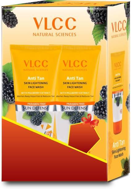 VLCC Anti Tan Skin Lightening Face Wash (2x150g)