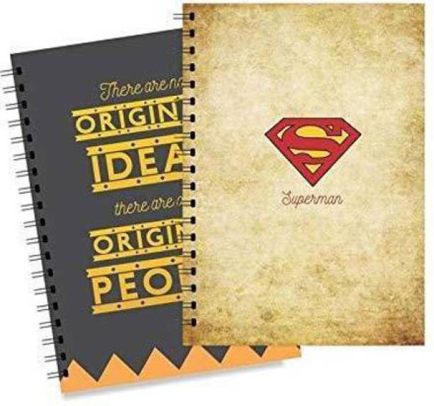 LADECOR Doodle, Notes, Planner A5 Notebook Unruling 140 Pages