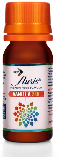 Auris Vanilla 24K Food Flavour Essence for Baking Cake, Chocolates, Indian Sweets Vanilla Liquid Food Essence