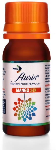 Auris Mango 24K Food Flavour Essence for Baking Cake, Chocolates, Indian Sweets Mango Liquid Food Essence
