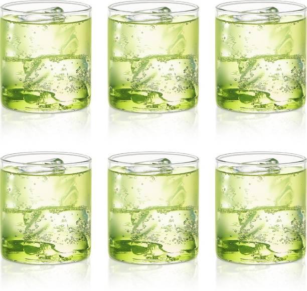 BOROSIL (Pack of 6) BV430100004 Glass Set