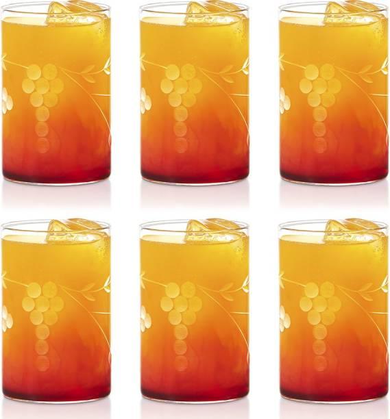 BOROSIL (Pack of 6) BVS6BER295L Glass Set