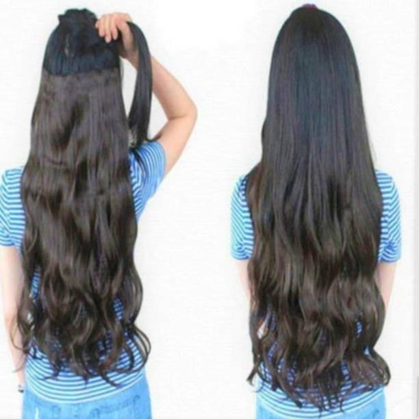 ubuntu Premium Curly  extension for girls Hair Extension