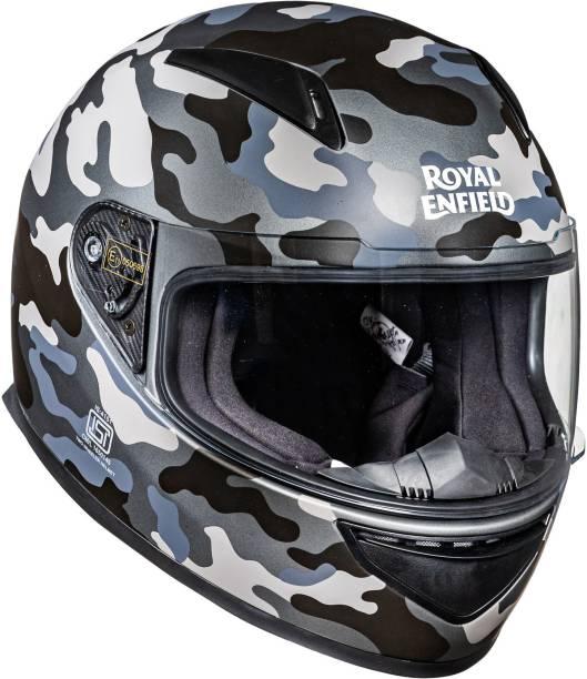 ROYAL ENFIELD Street Prime Crackling Camo Helmet Motorbike Helmet