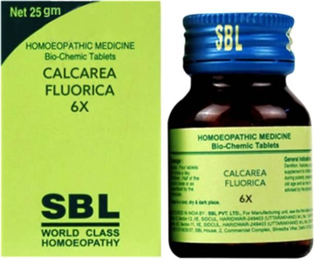 SBL Calcarea Fluorica 6X Tablets