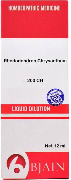 Bjain Rhododendron Chrysanthum 200 CH Dilution
