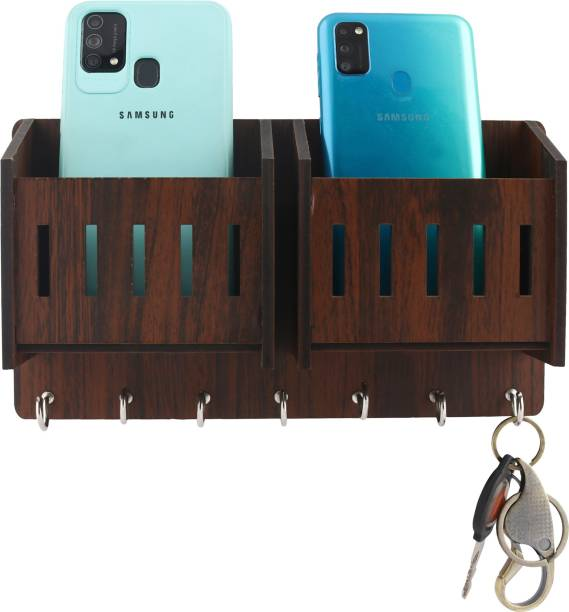 Metvan 2-Pocket Wood Key Holder