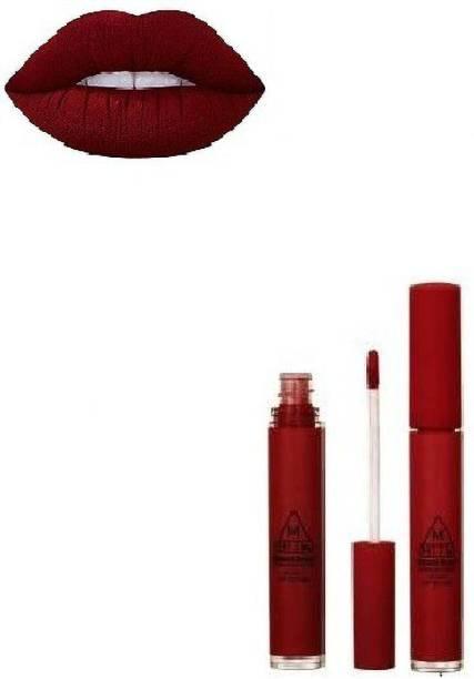 Romantic Beauty PROFESSIONAL MAKE-UP MATTE VELVET LIP GLOSS MAROON
