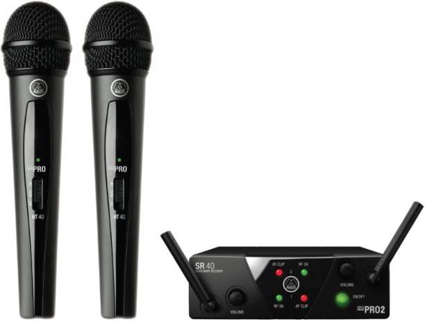 AKG WMS40 Mini Dual Vocal Set Band US25B/D Microphone