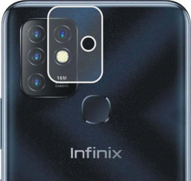 DESIBUZZ Back Camera Lens Glass Protector for Infinix Hot 10