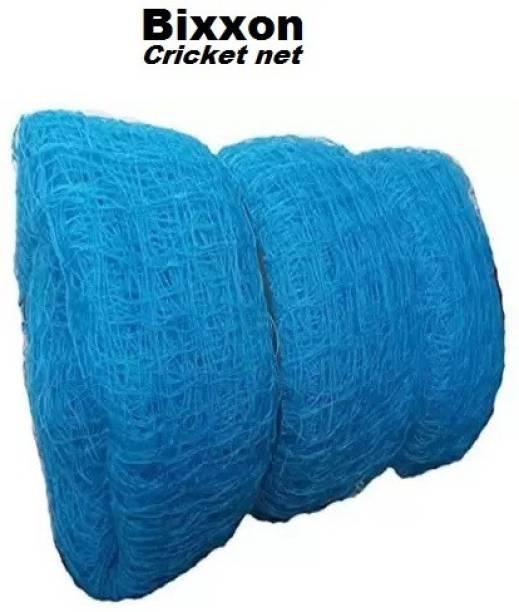 Bixxon HDPE 10x10 Feet Ground Boundary Cricket Net (Blue) Cricket Net