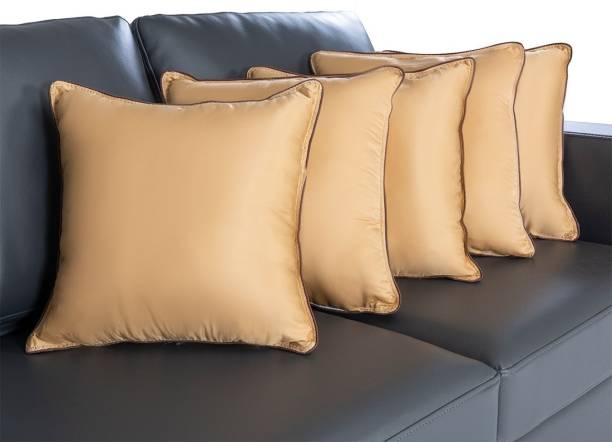 Wakefit Microfibre Solid Cushion Pack of 5