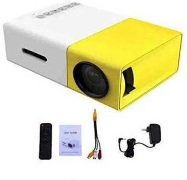 STROMBUCKS Portable LED Projector Office. HD Theater Support USB HDMI Mini 1080p EU Plug 600 lm Portable Projector
