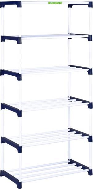 FLIPZON Premium Metal, Plastic Shoe Rack